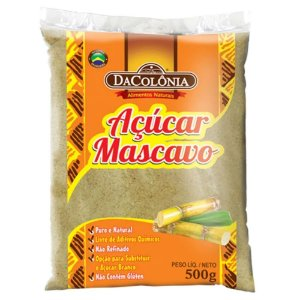Açúcar Mascavo Dacolônia 500g