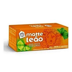 Chá Matte Leão Limão saquinho 25und