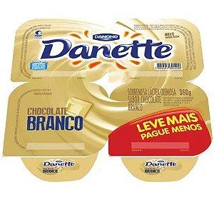 Sobremesa Danone Danette Chocolate Branco 360g