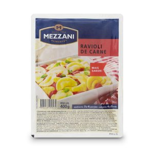 Ravioli Mezzani Carne 400g