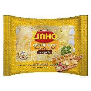 Pão de Alho Zinho Espeto Tradicional com Queijo 600g