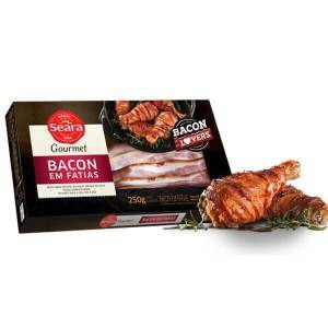 Bacon Fatiado Seara 250g
