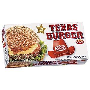 Hambúrguer Bovino Texas Burguer 672g