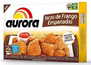 Isca de Frango Aurora 300g