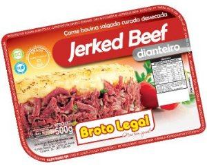 Charque Jerked Beef Rosarial (dianteiro) 500g