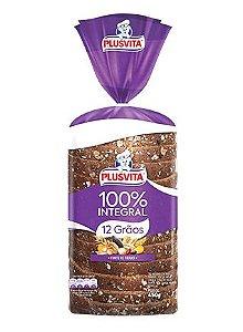Pão 12 grãos Plus Vita 100% integral 450g