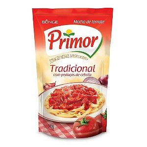 Molho de Tomate Primor Tradicional 340g