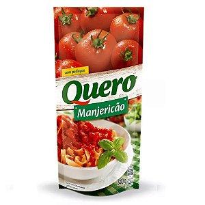 Molho de Tomate Quero Manjericão 340g