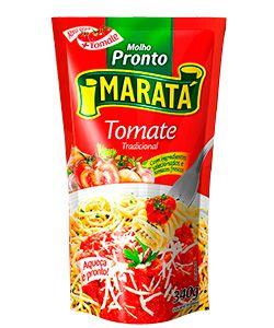 Molho de Tomate Maratá Tradicional 340g