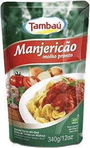 Molho de Tomate Tambaú Manjericão 340g