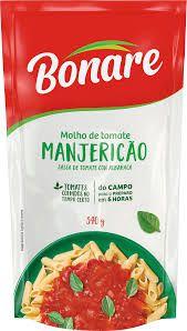 Molho de Tomate Bonare Manjericão 340g