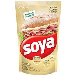 Maionese Sachê Soya 200g