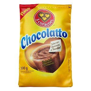 Achocolatado em pó Chocolatto Três Corações 300g