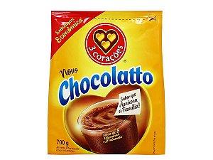 Achocolatado em pó Chocolatto Três Corações 700g