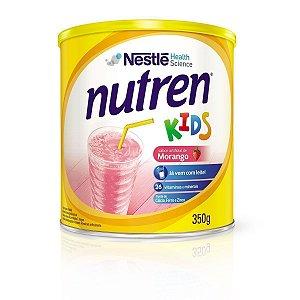Alimento Nestlé Nutren Kids Morango 350g