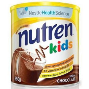 Alimento Nestlé Nutren Kids Chocolate 350g
