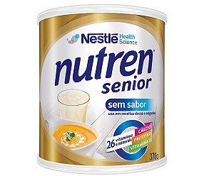 Alimento Nestlé Nutren Senior Sem Sabor 370g