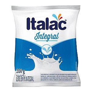 Leite em Pó Italac Integral 200g