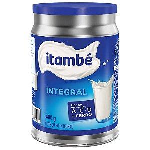 Leite em Pó Itambé Integral lata 400g
