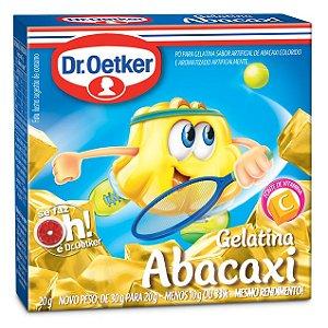 Gelatina Dr. Oetker Abacaxi 20g