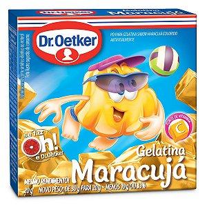 Gelatina Dr. Oetker Maracujá 20g
