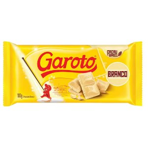 Chocolate Garoto Branco 100g