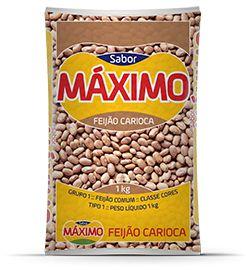 Feijão Sabor Máximo Carioca T.1. 1kg