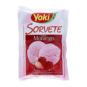 Pó Sorvete Yoki Morango 150g