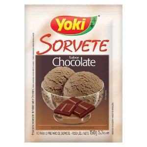Pó Sorvete Yoki Chocolate 150g