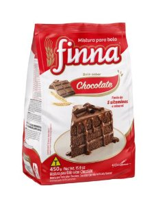 Mistura para Bolo Finna Chocolate 450g