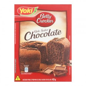 Mistura para Bolo Betty Crocker Yoki Chocolate caixa 425g