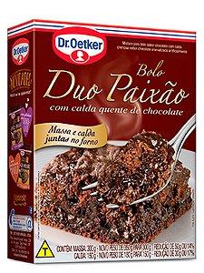 Mistura para Bolo Dr. Oetker Duo Paixão Chocolate 450g