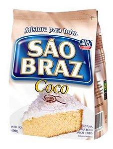 Mistura para Bolo São Braz Coco 400g