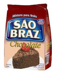 Mistura para Bolo São Braz Chocolate 400g