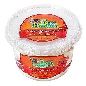 Queijo Mozzarella Bola Búfala Bom Destino 250g