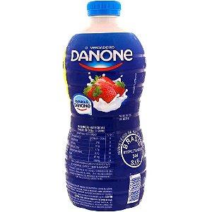 Iogurte Danone Morango Garrafa 1,25kg