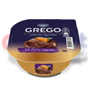 Iogurte Danone Grego 70% Cacau 100g