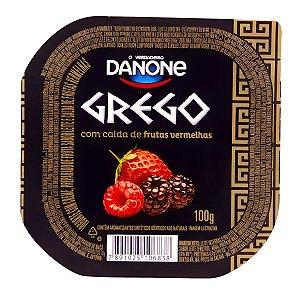Iogurte Danone Grego Frutas Vermelhas 100g