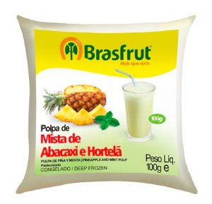 Polpa Brasfrut Abacaxi com Hortelã 1 unidade