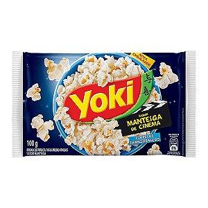 Milho para Pipoca de Microoondas Manteiga de Cinema Yoki 100g
