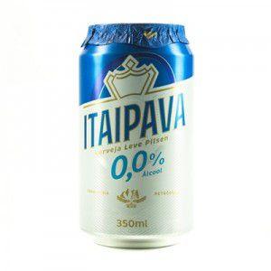 Cerveja Itaipava 0% lata 350ml