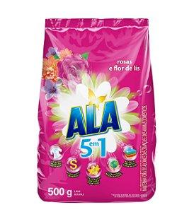 Detergente em pó Ala rosas e flor de lis 500 g