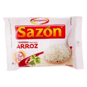 Tempero Sazón - Ideal para Arroz 60g