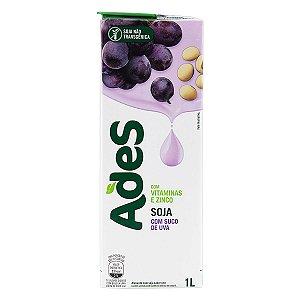 Bebida à Base de Soja Ades Sabor Uva 1L