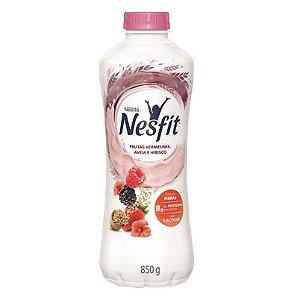 Iogurte Nestlé Nesfit Zero Lactose Frutas Vermelhas, Aveia e Hibisco 850g