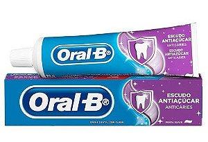 Creme Dental Oral B Antiaçucar 70g