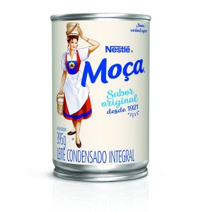 Leite Condensado Moça Tradicional Nestlé lata 395g