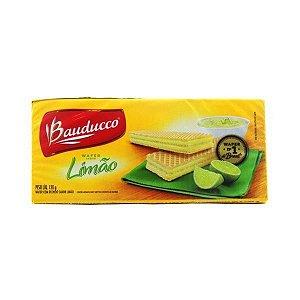 Biscoito Wafer Bauducco Limão 78g