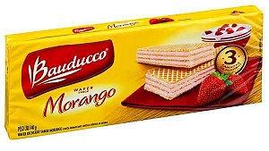 Biscoito Wafer Bauducco Morango 78g