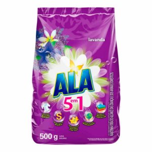Detergente em Pó Ala Lavanda 500g
